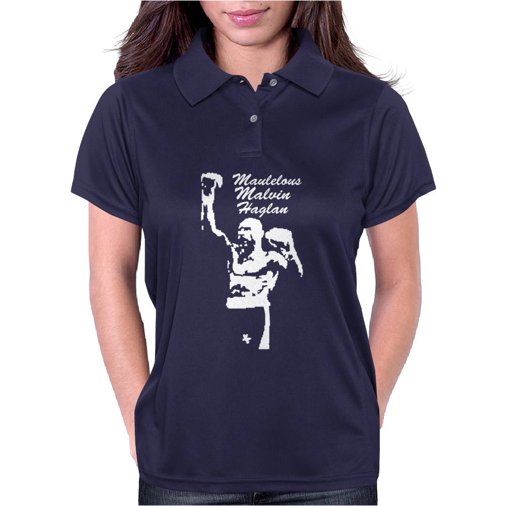 Marvelous Marvin Hagler Boxing Legend Womens Polo
