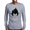 mask man Mens Long Sleeve T-Shirt