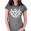 Masonic Creed Flag Banner Freemason Womens Fitted T-Shirt