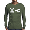 MATCHING mac COPY PASTE Mens Long Sleeve T-Shirt