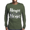 Matthew McConaughey Dazed & Confused Alright Alright Alright Hipster Mens Long Sleeve T-Shirt