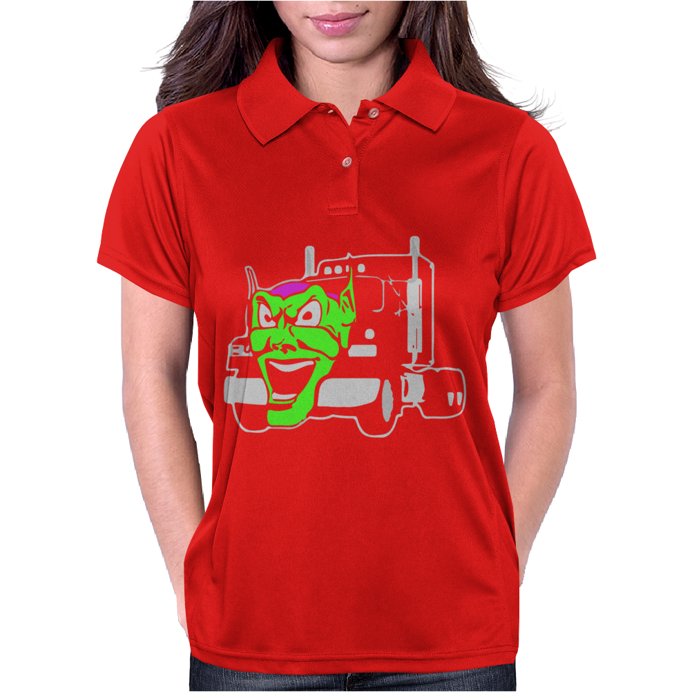 Maximum Overdrive Truck Movie Womens Polo