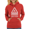 MAY SPONTANEOUSLY START TALKING ABOUT CYCLING Womens Hoodie