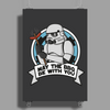 May the BBQ be with you Poster Print (Portrait)