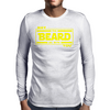 May The Beard Be With You. Mens Long Sleeve T-Shirt