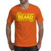 May The Beard Be With You. Mens T-Shirt
