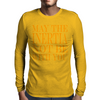 May the inertia not be with you Mens Long Sleeve T-Shirt