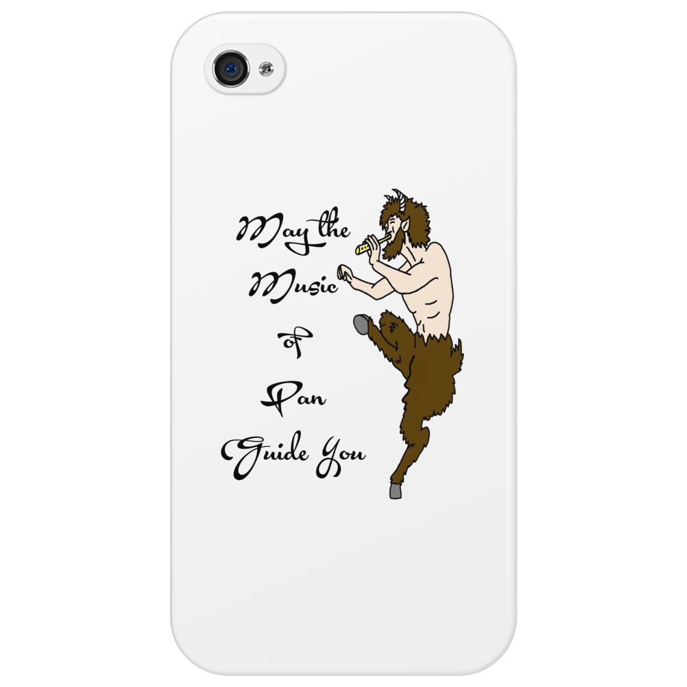 May the Music of Pan Guide You Phone Case