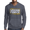 May the Vegan Force be with you Mens Hoodie
