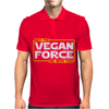May the Vegan Force be with you Mens Polo