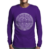 Mayan Aztec Mythical Calendar 2012 Mens Long Sleeve T-Shirt