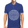 Mayan Aztec Mythical Calendar 2012 Mens Polo