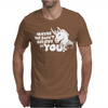 Maybe We Don't Believe In You Unicorn Mens T-Shirt
