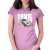 Mazda MX5 Classic Sports Car Womens Fitted T-Shirt