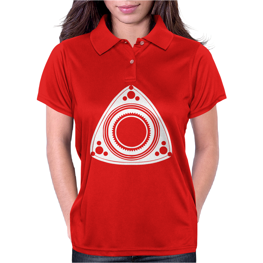 Mazda Rotary Engine Womens Polo