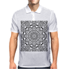 MD - Mandala 01 Mens Polo