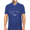 MDMA Molecule - Funny drugs science atom molecular structure Mens Polo