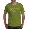 MDMA Molecule - Funny drugs science atom molecular structure Mens T-Shirt