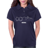 MDMA Molecule - Funny drugs science atom molecular structure Womens Polo