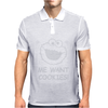 Me Want Cookies ! Mens Polo