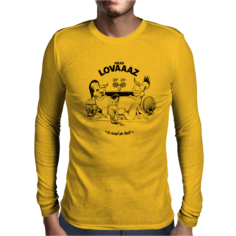 Mead Lovaaaz Mens Long Sleeve T-Shirt