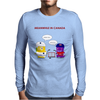 Meanwhile in Canada. Let's play ice hockey! Mens Long Sleeve T-Shirt