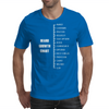 Measure Your Beard. Mens T-Shirt