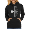 Measure Your Beard. Womens Hoodie