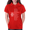 Measure Your Beard. Womens Polo