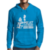 Meat is Murder Tasty Tasty Murder Mens Hoodie