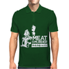 Meat is Murder Tasty Tasty Murder Mens Polo
