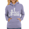 Meat is Murder Tasty Tasty Murder Womens Hoodie