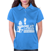 Meat is Murder Tasty Tasty Murder Womens Polo