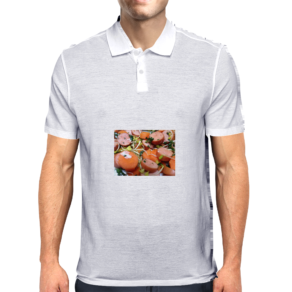 Meat likes me Mens Polo