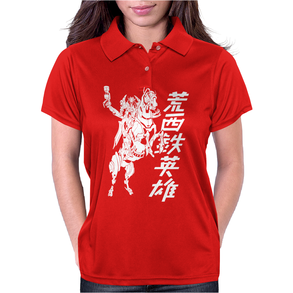 Mecha Cowboy Womens Polo