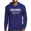 Mechanic Christmas Mens Hoodie