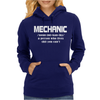 Mechanic Christmas Womens Hoodie