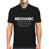 Mechanic Mens Polo