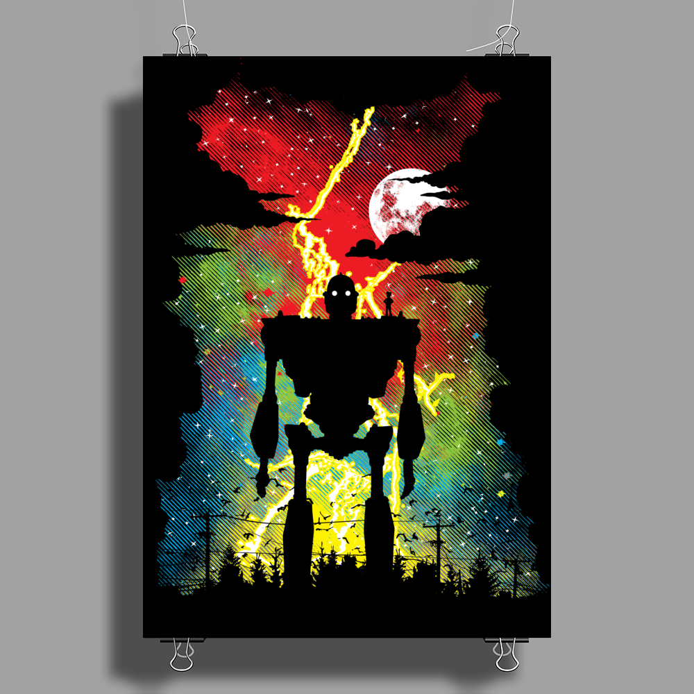 Mechanical Friend Poster Print (Portrait)
