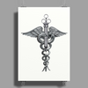 Medical Logo Poster Print (Portrait)