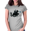 Medieval Night Fury Womens Fitted T-Shirt