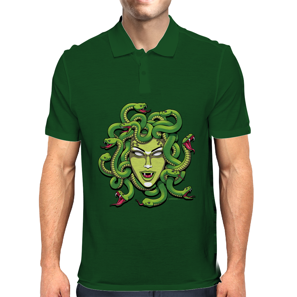 Medusa by Yobeeno Mens Polo