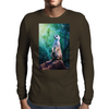 Meerkat Mens Long Sleeve T-Shirt