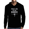 Meet Me At The Barre Ballet Shoes Funny Mens Hoodie