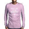 Meet Me At The Barre Ballet Shoes Funny Mens Long Sleeve T-Shirt