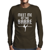 Meet Me At The Barre Mens Long Sleeve T-Shirt