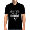 Meet Me At The Barre Mens Polo