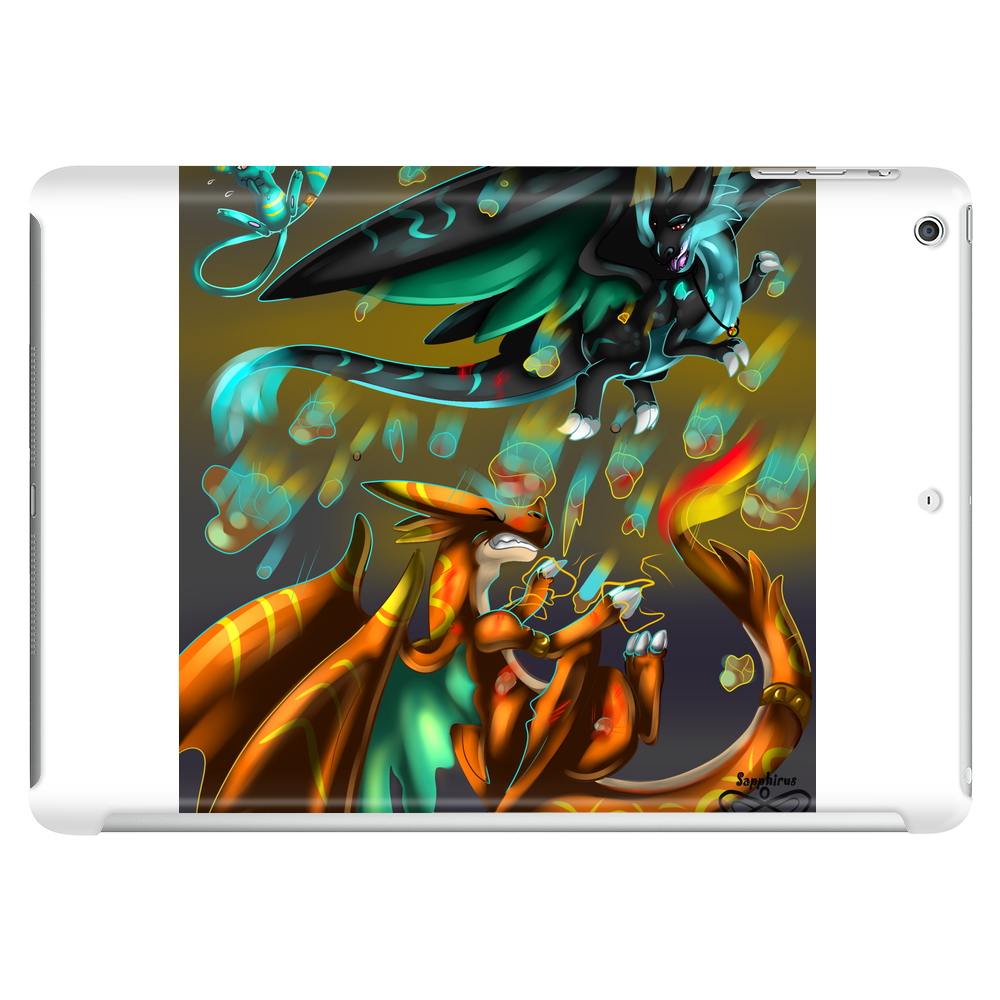 Mega Charizard X vs Y Tablet (horizontal)