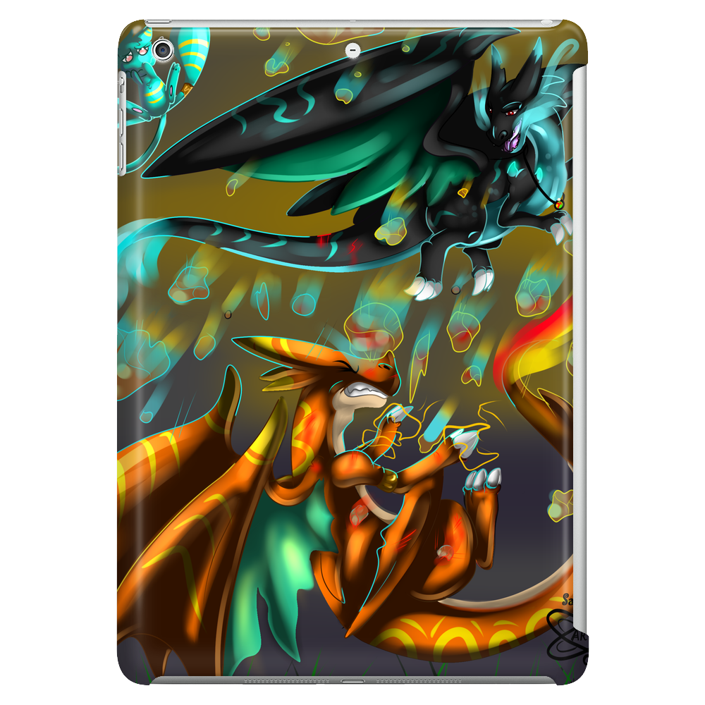 Mega Charizard X vs Y Tablet (vertical)