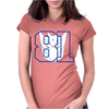 Megatron transformers Calvin Womens Fitted T-Shirt